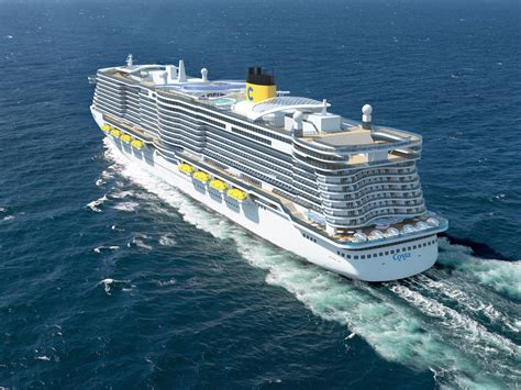 largest cruise ship costa cruises to build new ships with world s largest
