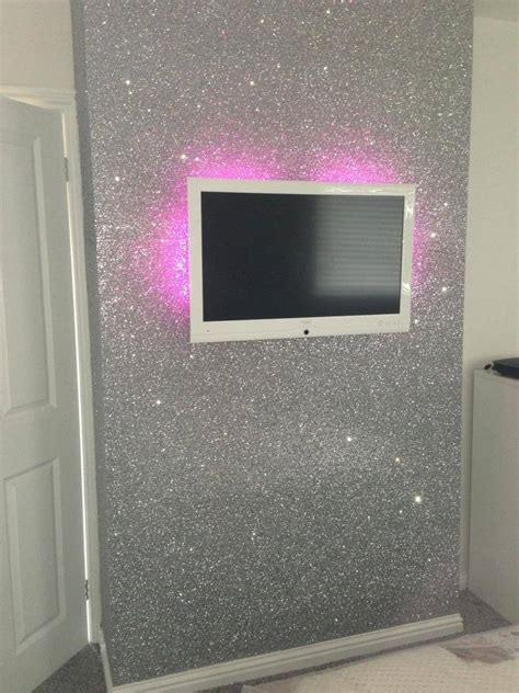 Living Room Glitter Paint Pink Glitter Wallpaper Reviews Shopping Pink