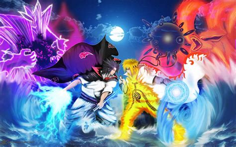 wallpaper background anime naruto rivals of a lifetime wallpaper and background image