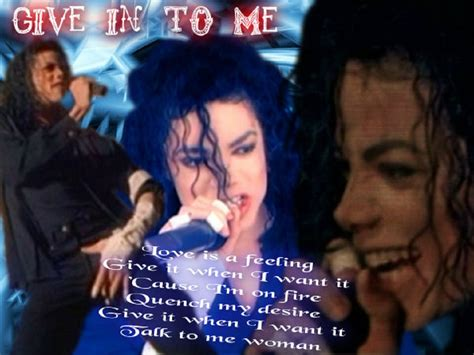 give in to me pin mj give in to me michael jackson photo on pinterest