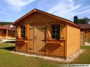 abris de jardin garages chalets en bois entretenez