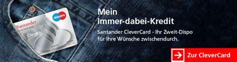 santander bank clever card santander bank erfahrungen 187 zum banken test 04 2018