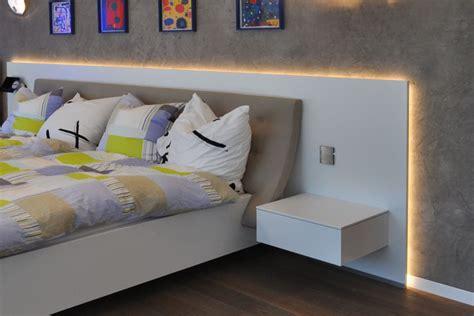indirekte beleuchtung bett beleuchtung schlafzimmer bett goetics gt inspiration