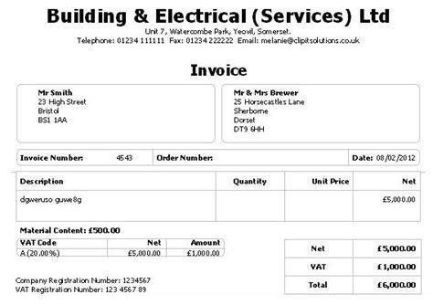 cis invoice template cis invoice template subcontractor denryoku info