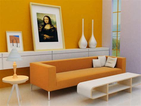 painting wohnzimmer painting orange living room interior painting ideas
