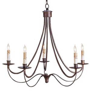 wrought iron chandelier melisenda country rubbed bronze wrought iron