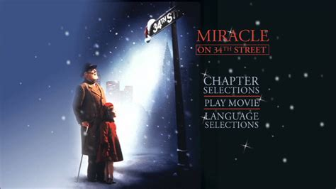 Miracle On 34th St 1994 Free Miracle On 34th 1994 Uk Dvd Menu
