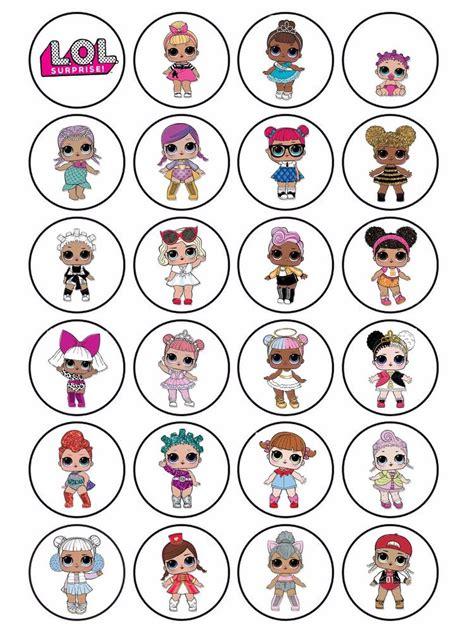 frosting verkeersbord 70 jaar mini cupcakes 3 5cm 24 x edible personalised lol dolls icing stickers cake cupcake topper ebay
