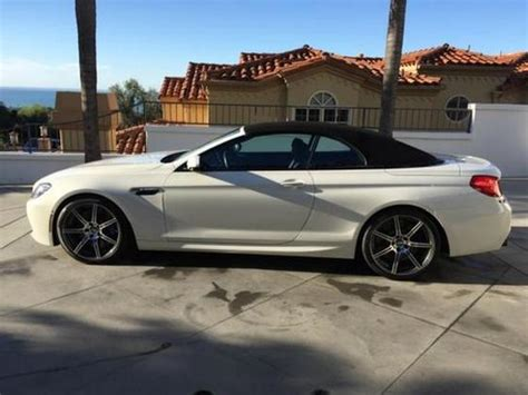 2015 Bmw M6 Convertible by 2015 Bmw M6 Convertible For Sale In San Diego Ca