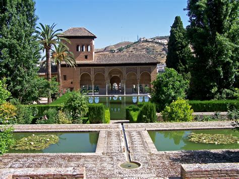 Granada Gardens by Alhambra Really Fascinating Palace And Hunted By Foreign
