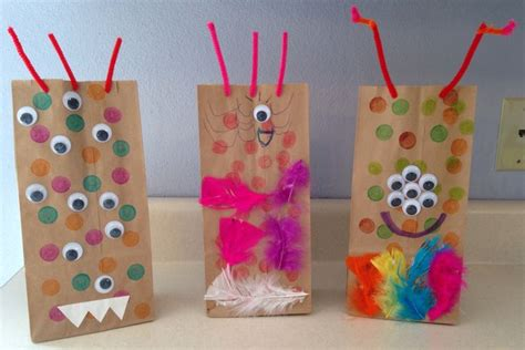 Paper Lunch Bag Crafts - 17 best images about paper lunch bag crafts on