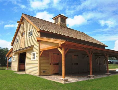 barns plans carolina barn handcrafted timber stable