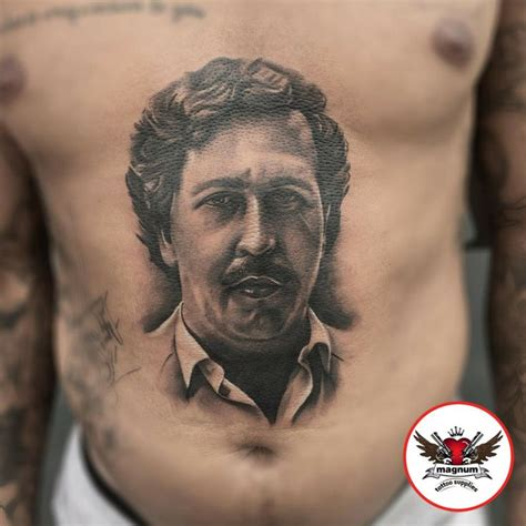 pablo escobar tattoo pablo escobar back 1164 newsmov