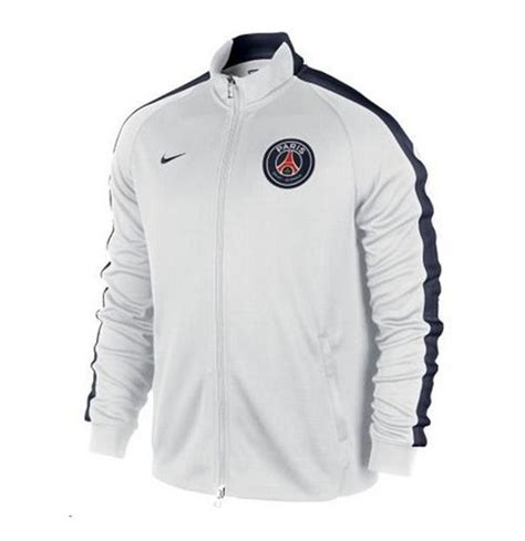 2014 2015 psg nike authentic n98 jacket red 613800 696 2014 2015 psg nike authentic n98 jacket white for only 163