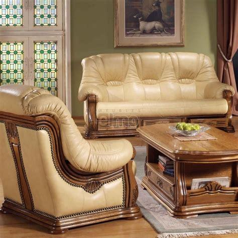 canape cuir rustique ensemble salon cuvette rustique stylis 233 avec tiroirs cuir