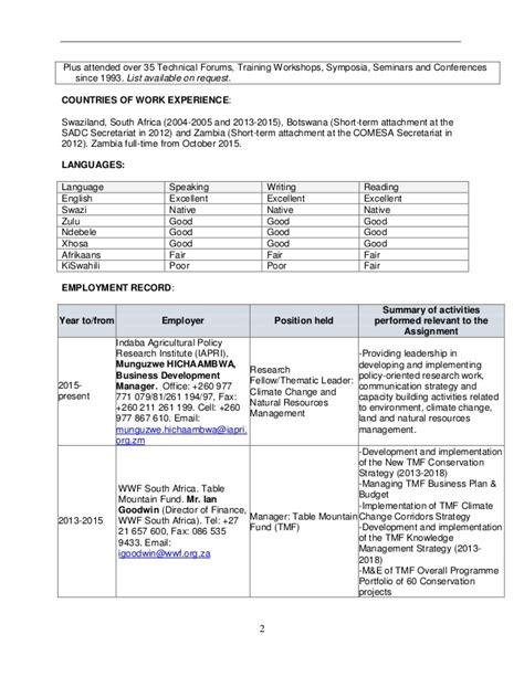 cv format in xhosa tech 6 cv format individual cliff dlamini 2016