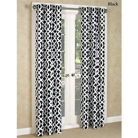 Black And White Trellis Curtains Black Trellis Curtains Curtains Drapes