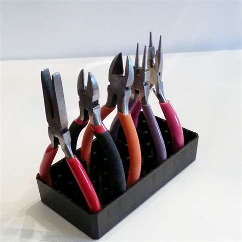 Plastic Tool Rack by Small Jewelry Tool Holder Recycled Plastic Holder
