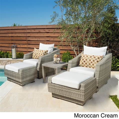patio chair with ottoman set modern outdoor ideas patio chair with ottoman set chairs