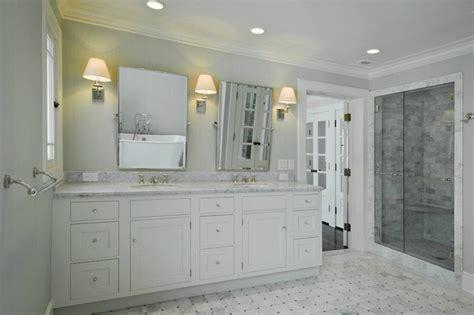 marble grey tile bathroom interior design ideas light gray grasscloth traditional bathroom cameo homes