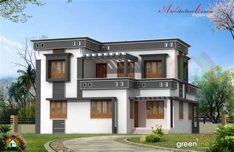 architecture kerala 1700 sq ft house plan