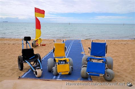 Kids Chairs For Hire Accessible Beaches Melbourne Have Wheelchair Will Travel