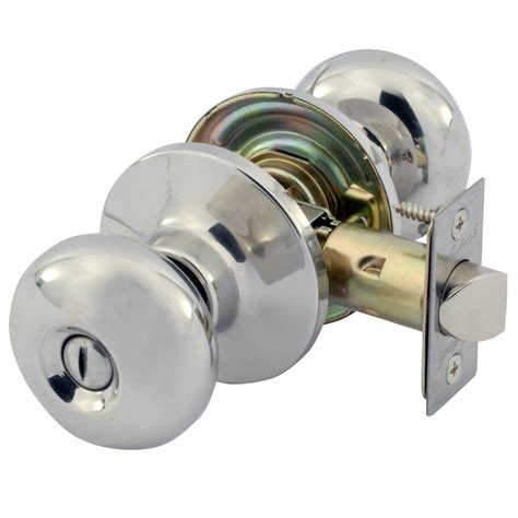 Gainsborough Knobs by Gainsborough Manning Stainless Steel Door Knob Privacy Set