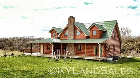 Log Cabins For Sale In Ky by Log Cabin Home For Sale In Kentucky 16 Acres Views
