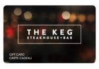 Where To Buy The Keg Gift Cards - the keg steakhouse gift cards earn rewards on the keg steakhouse gift cards