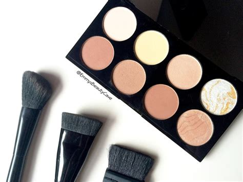 Makeup Contour makeup revolution ultra contour palette review swatches