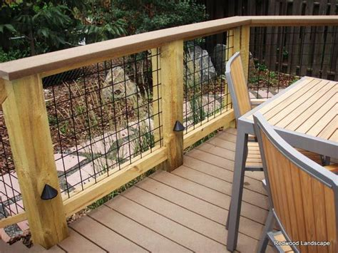 deck rail options  metal fence type google search