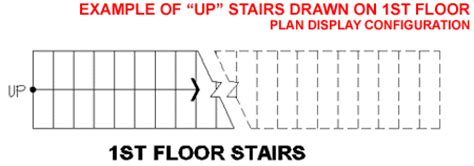 how to draw stairs in a floor plan the ups and downs of the adt stair display representation
