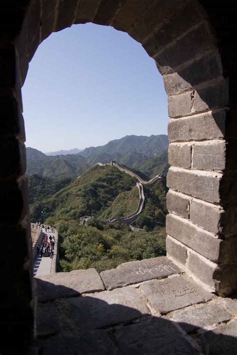 great wall badaling section badaling great wall pictures