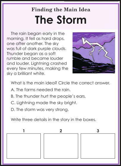 Idea Worksheets 3rd Grade by Third Grade Idea Worksheets