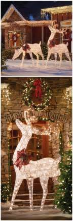 25 best ideas about christmas yard decorations on