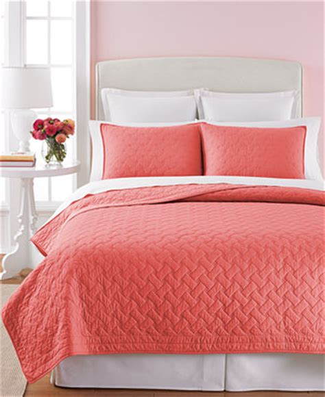 Coral Colored Quilts by Product Not Available Macy S