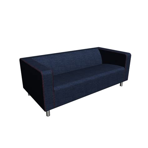ikea sofa klobo bezug klippan loveseat vansta blue design and decorate