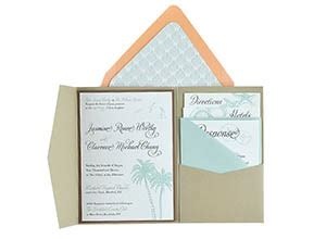 free wedding invitation templates 5x7 cards and pockets free pocket wedding invitation