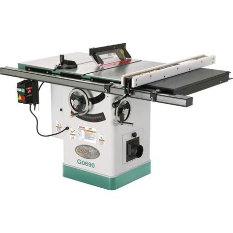 jet table saw grizzly g0690 cabinet table saw with riving