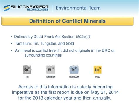 conflict minerals policy template 2014 ipc apex expo emc management council