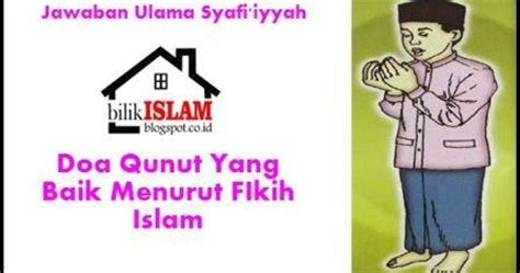 Fikih Wanita Empat Madzhab Muhammad Utsman Al Khasyt lafadz doa qunut sesuai sunnah bilik islam
