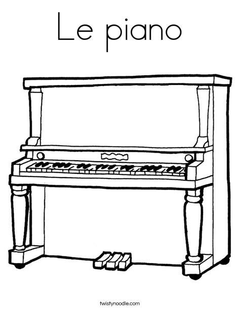 le piano le piano coloring page twisty noodle