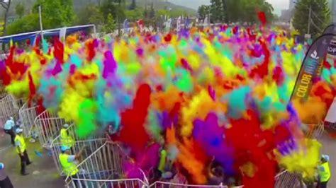 the color run las vegas the color run prepares to brighten up las vegas ksnv