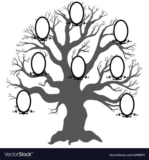 Family Tree Stock Images Royalty Free Images Vectors Family Tree Royalty Free Vector Image Vectorstock