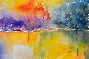 water color paintings watercolor 2125632 painting by pol ledent