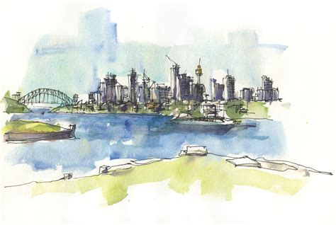 Five Minute Sketching Architecture simple skylines 183 extract from five minute sketching