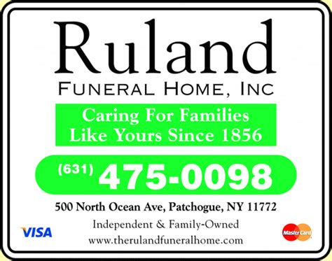 ruland funeral home inc patchogue ny 11772 1759