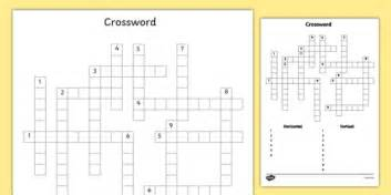 blank editable crossword template blank editable