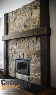 fireplace done with kiamichi thin veneer