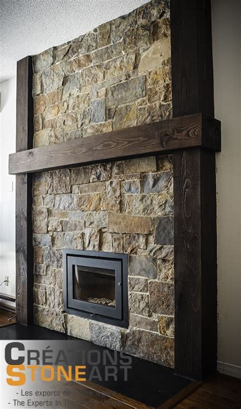 fireplace with stone veneer facing and ceramic tile hearth fireplace done with kiamichi natural thin stone veneer
